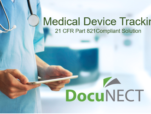 DocuNECT Medical Device Tracking
