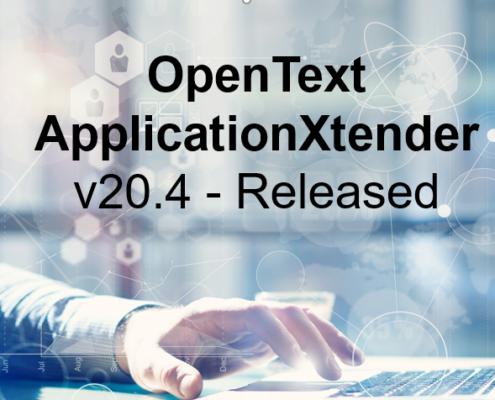 OpenText AX v20.4